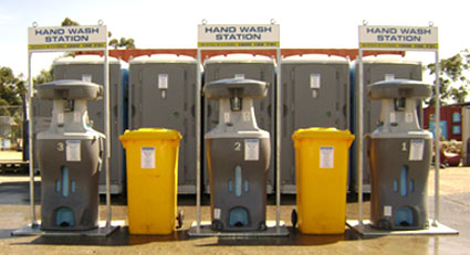 portable hand wash station hire melbourne